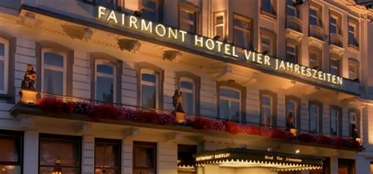 Hamburg:Hotel Vier Jahreszeiten
