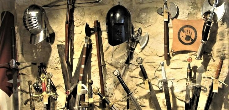 Rothenburg medieval weapons